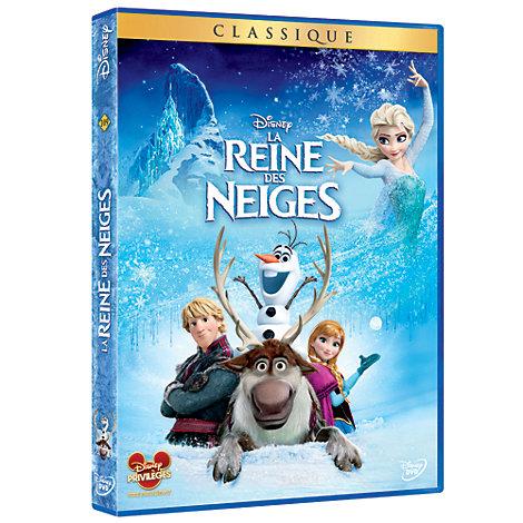 DVD La Reine des Neiges