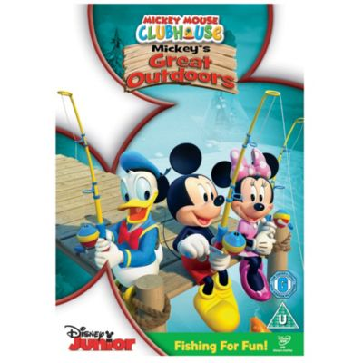 Mickey's Great Outdoors DVD