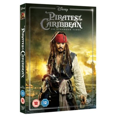 Pirates of the Caribbean 4 On Stranger Tides DVD