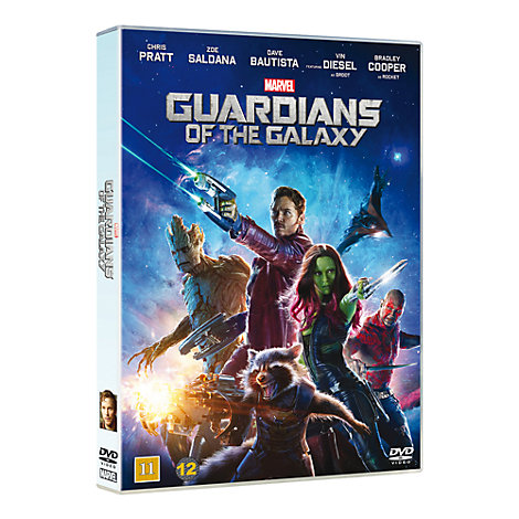 Guardian of the Galaxy DVD