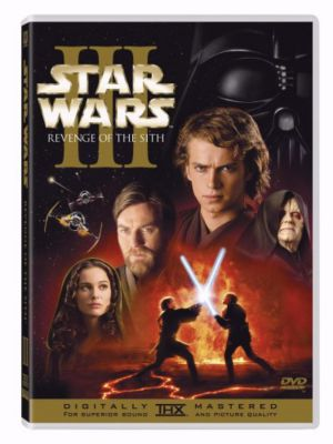 Star Wars III DVD