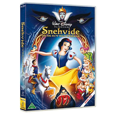 Snehvide og de syv små dværge - DVD