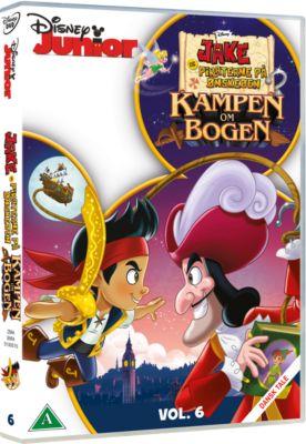 Disney DVD - Jake og Piraterne på Ønskeøen - Kampen om bogen