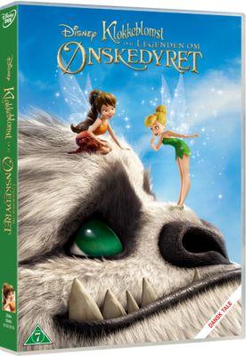 Klokkeblomst og Legenden om Ønskedyret på DVD