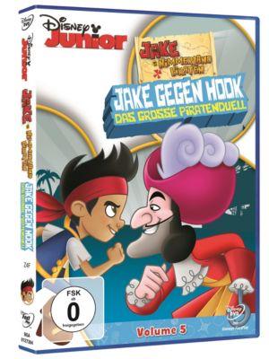 Jake und die Nimmerland Piraten - Jake gegen Hook - Das grosse Piratenduell (DVD)