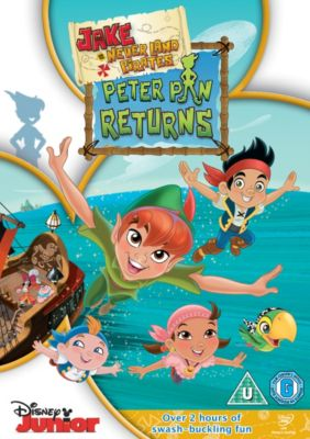 Jake and The Neverland Pirates: Peter Pan Returns DVD