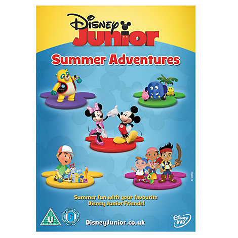 Disney Junior Summer Adventures DVD