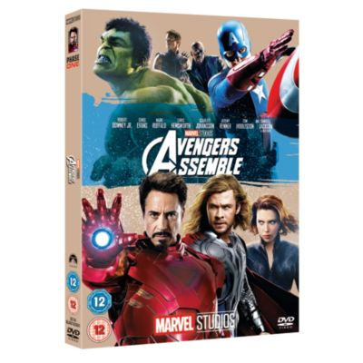 Marvel Avengers Assemble DVD