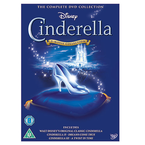 Cinderella 1, 2 & 3 DVD Box Set