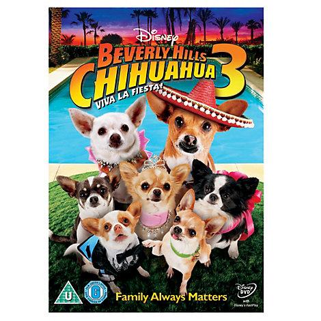 Beverly Hills Chihuahua 3 DVD