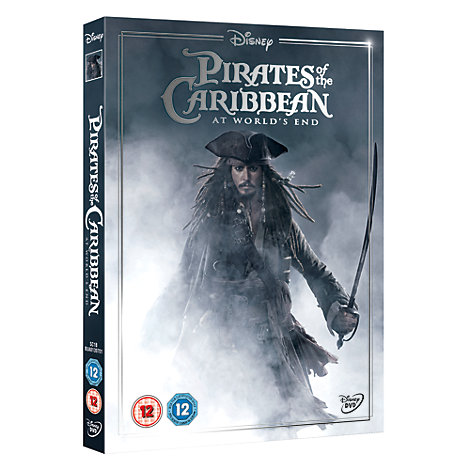 Pirates Of The Caribbean: At World's End DVD
