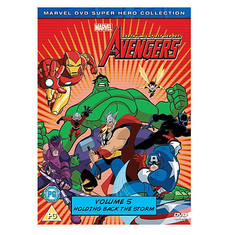 Avengers - Earth's Mightiest Heroes Volume 5 DVD