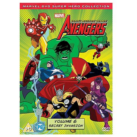 Avengers - Earth's Mightiest Heroes Volume 6 DVD