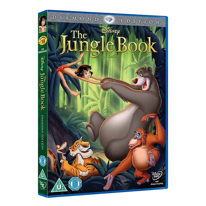 Jungle Book DVD