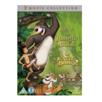 Jungle Book 1 & 2 Pack DVD