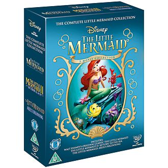 The Little Mermaid 1, 2 & 3 DVD Boxset