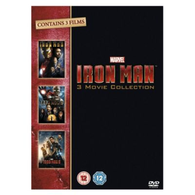 Iron Man 1 - 3 Box Set DVD�