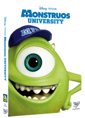 Monstruos University en DVD