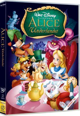 Alice i Underlandet DVD