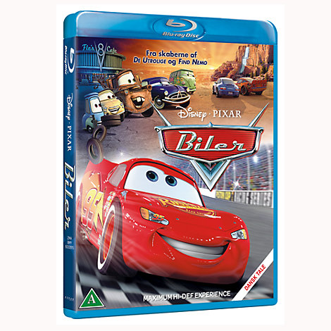 Biler Blu-Ray