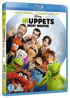 Muppets Most Wanted Blu-ray