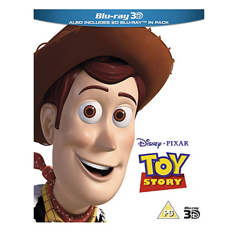 Toy Story 3D Blu-ray DVD