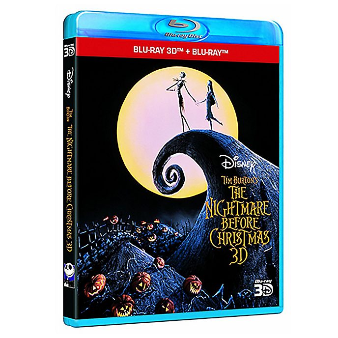 Nightmare Before Christmas 3D Blu-ray
