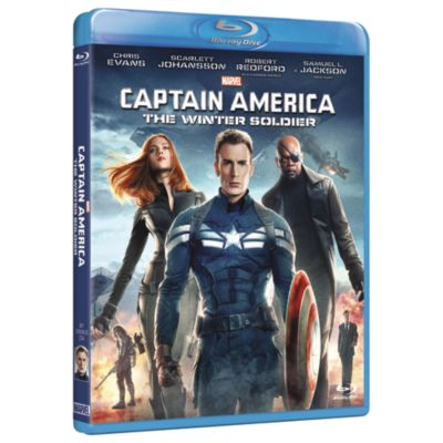 Captain America The Winter Soldier - Blu Ray