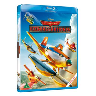 Flyvemaskiner 2 - Redningsaktionen - Blu-Ray