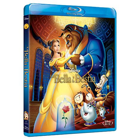 La Bella y La Bestia - DVD Blu-Ray