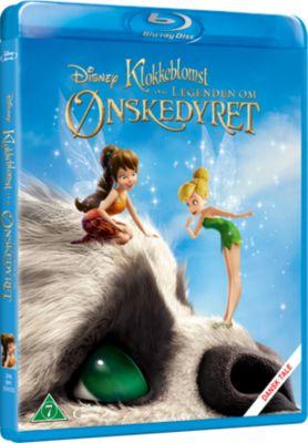 Klokkeblomst og Legenden om Ønskedyret på Blu-ray