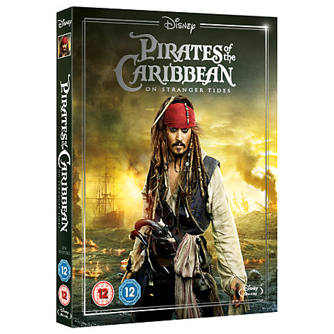 Pirates of the Caribbean 4 Blu-ray