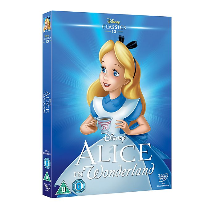 Alice in Wonderland (Animated) Blu-ray