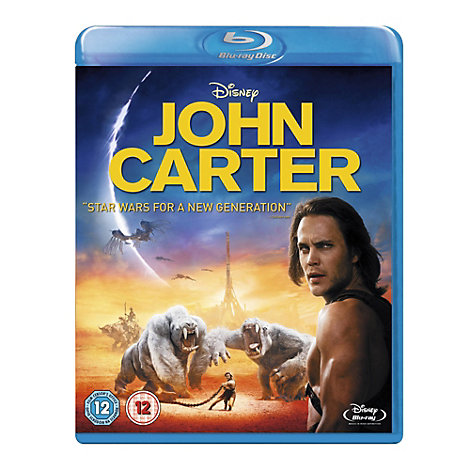 John Carter of Mars Blu-ray