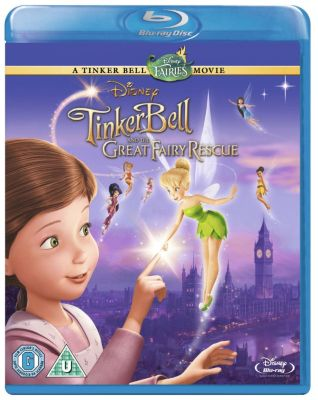 Tinker Bell and the Great Fairy Rescue Blu-ray