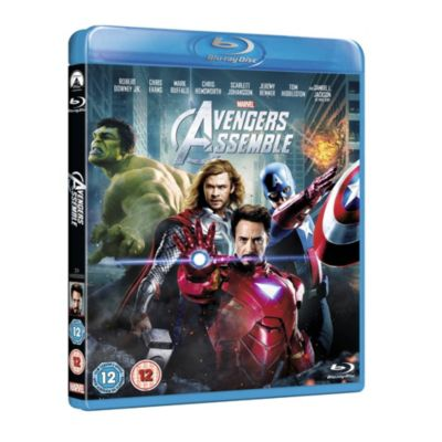 Marvel Avengers Assemble Blu-ray