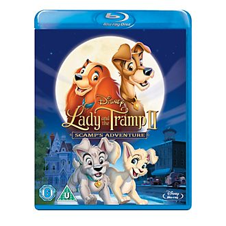 Lady And The Tramp 2: Scamp's Adventure Blu-ray
