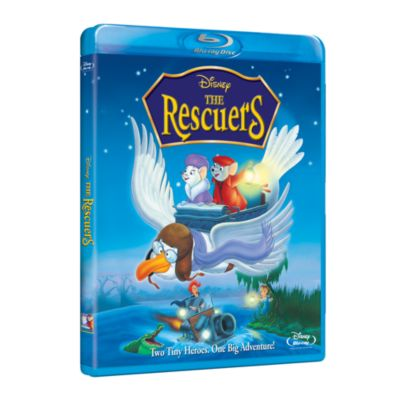 The Rescuers 35th Anniversary Blu-ray