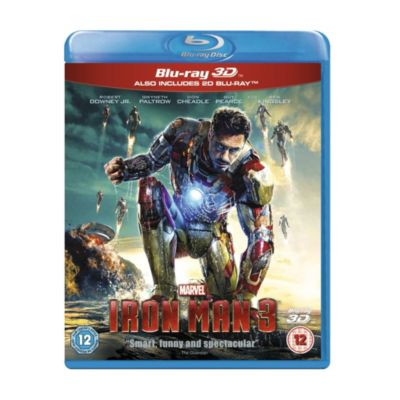 Iron Man 3 3D Blu-ray