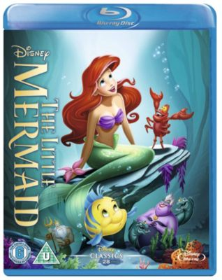 The Little Mermaid Blu-ray