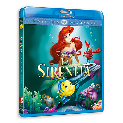 La Sirenita Blu-ray