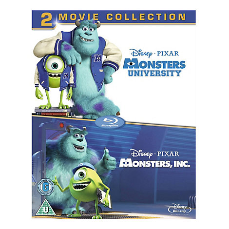 Monsters Inc & University Blu-ray