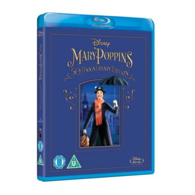 Mary Poppins 50th Anniversary Blu-ray