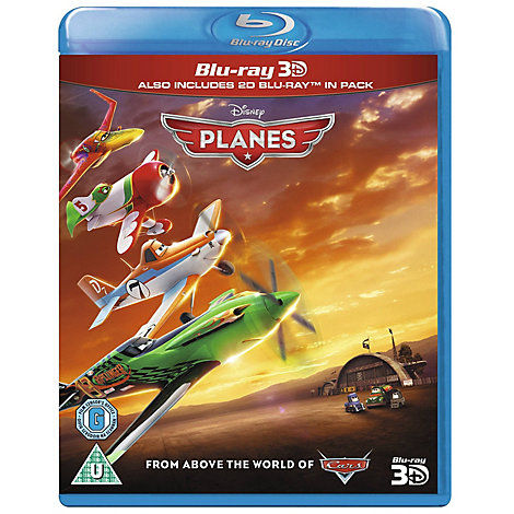 Planes 3D Blu-ray
