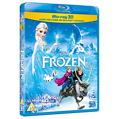 Frozen 3D + 2D Blu-ray