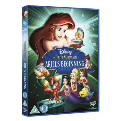 The Little Mermaid: Ariel's Beginning DVD