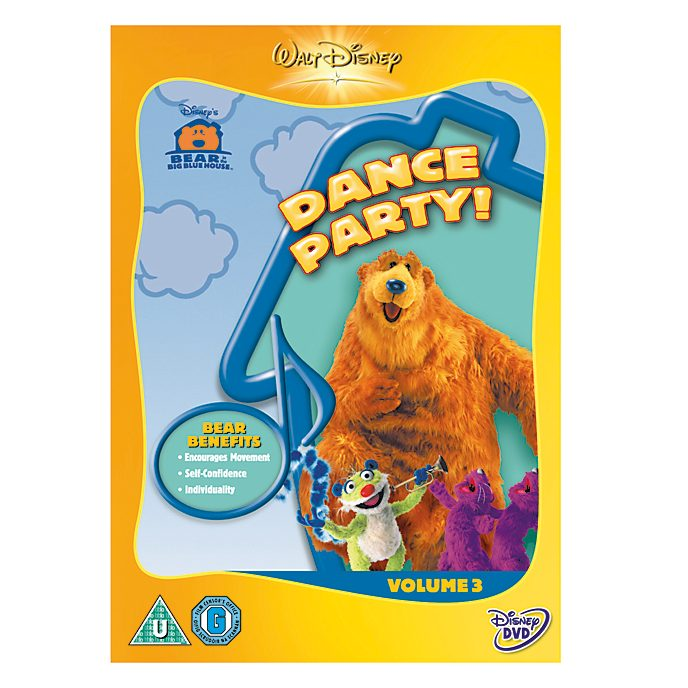Bear In The Big Blue House - Dance Party DVD
