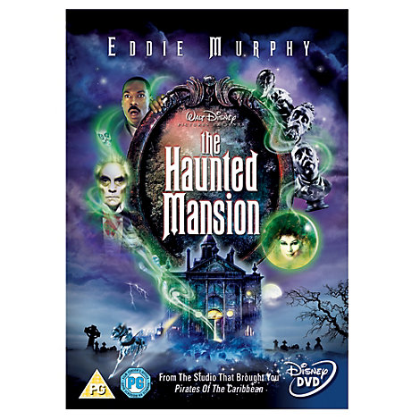 The Haunted Mansion DVD