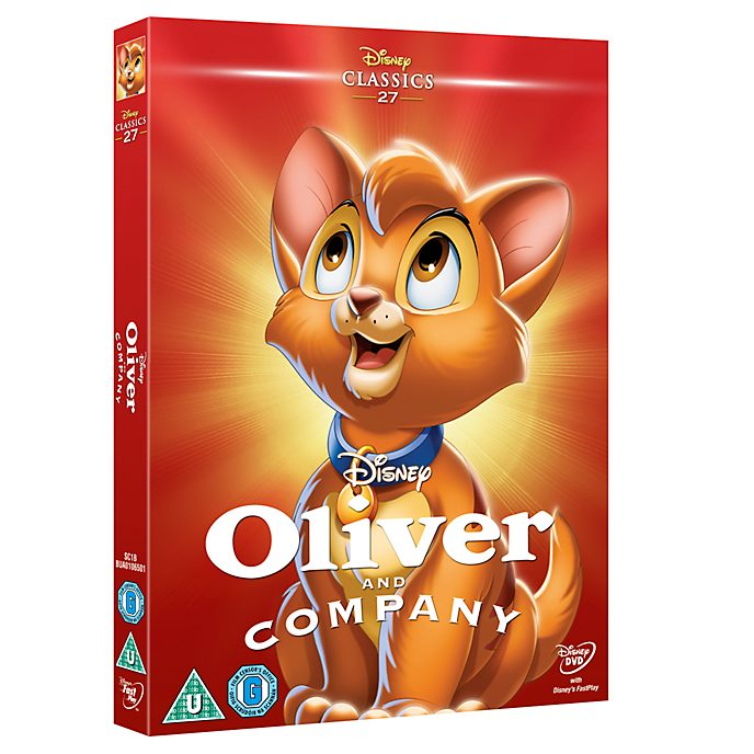 Oliver and Company DVD