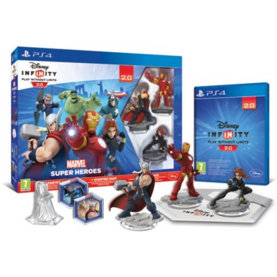 Disney INFINITY 2.0 Marvel Super Heroes Starter Pack For PlayStation 4